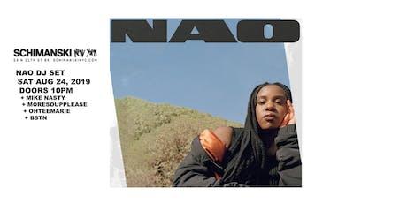 NAO (DJ Set) tickets