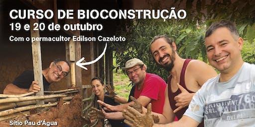 Curso de Bioconstrução - outubro