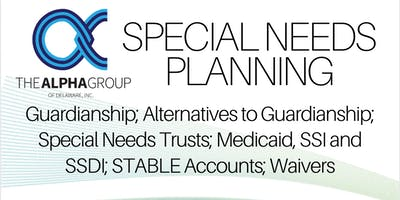 Special Needs Planning with The Alpha Group of Delaware