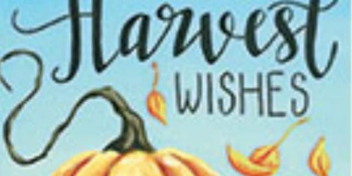 Harvest Wishes Paint Party Fundraiser - Oct 6 event ONLY