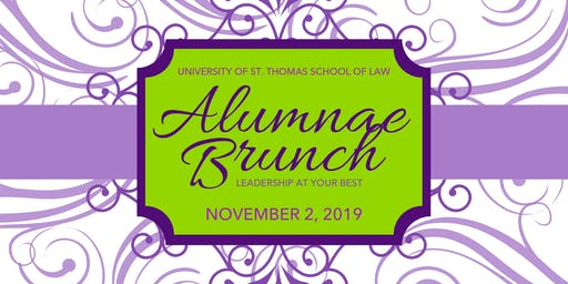 St. Thomas Law Alumnae Brunch 2019