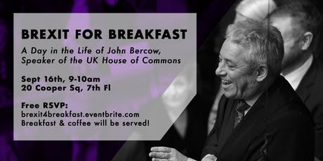 Brexit for Breakfast tickets