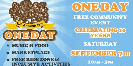 OneDay - FREE Community Event tickets