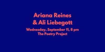 Ariana Reines & Ali Liebegott
