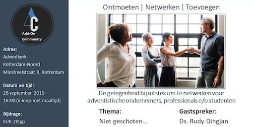 Add-On Community - Rotterdam en Omstreken - september 2019