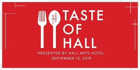 Taste of HALL tickets