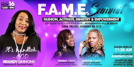The F.A.M.E. Summit tickets
