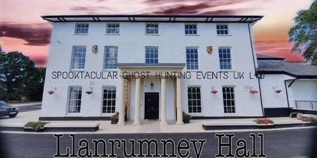 Llanrumney Hall Ghost Hunt- Cardiff- £32 P/P tickets