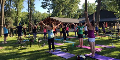 Wine about Yoga @ Spring Lake Winery