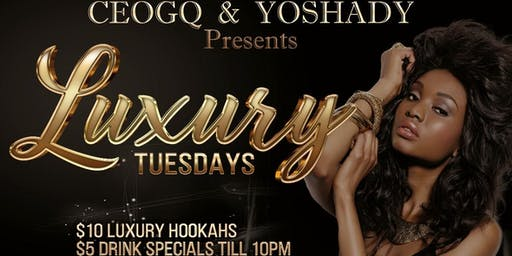 Luxury Tuesdays R O O F T O P  S E A S O N | After Work & Night Time Vybez