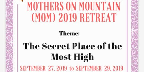 Mothers on Mountain (MoM) 2019 tickets