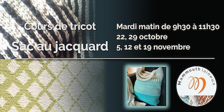 Tricot chez Pin-So - Le sac au jacquard - MAR AM billets