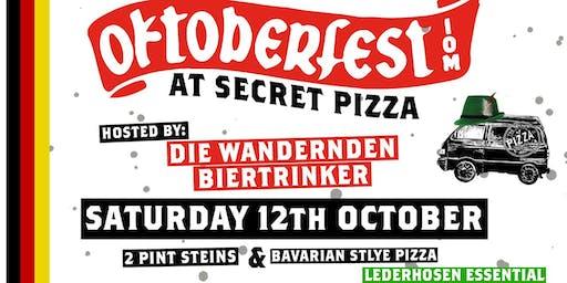 Oktoberfest @ Secret Pizza