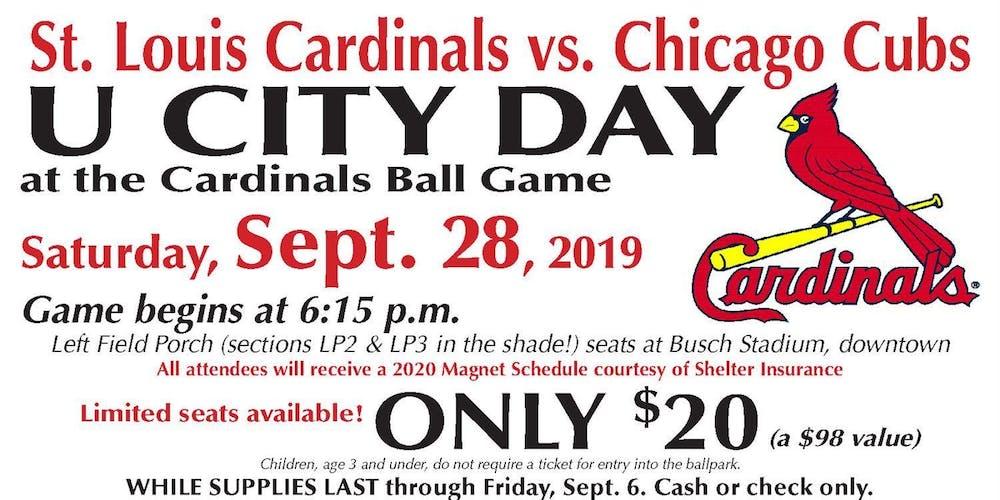 Sponsor a JROTC Cadet to Cardinals Game Tickets, Sat, Sep 28