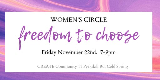 Monthly Women's Circle