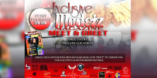 Exclusive Modelz Magazine Meet & Greet