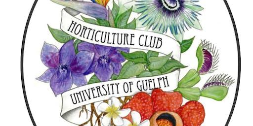 UoG Horticulture Club : Floriculture Workshop