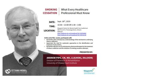 Smoking Cessation: What Every Healthcare Professional Must Know