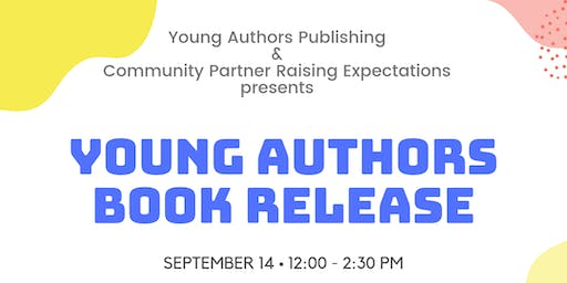 2019  Young Authors Book Release