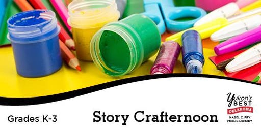 Story Crafternoon (K-3rd)