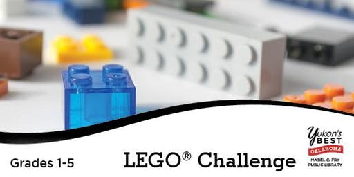 Elementary LEGO® Challenge (1st - 5th)