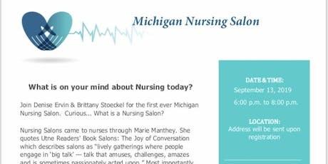 Michigan Nursing Salon tickets