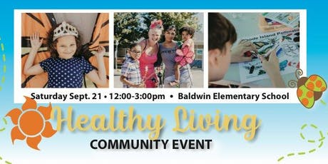 3rd Annual Healthy Living Community Event tickets