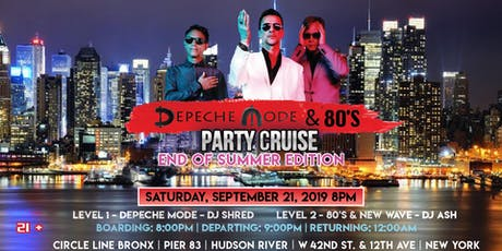 Depeche Mode & 80's Party Cruise - End of Summer Edition tickets
