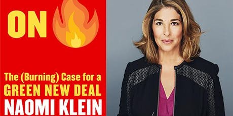 Naomi Klein on the Green New Deal tickets