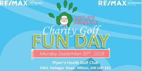 Layla's Miracle Charity Golf Fun Day tickets