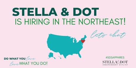 Stella & Dot is Hiring Stylists and Leaders in CT! tickets