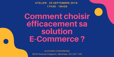 Comment choisir efficacement sa solution E-Commerce ? tickets