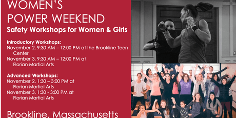 POWER WEEKEND: Introduction to Safety & Self-Defense for Women tickets