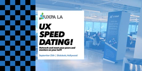 UXPALA - UX Speed Dating Fall 2019 tickets