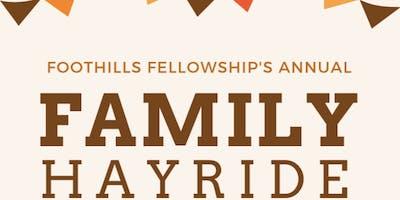 Foothills Fellowship Family Hayride