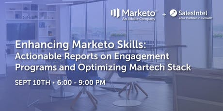 Actionable Marketo Engagement Programs Reports || Optimizing Martech Stack tickets