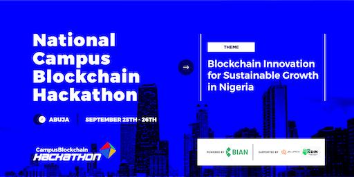 National Campus Blockchain Hackathon
