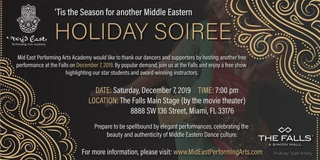 Middle Eastern Holiday Soirée tickets