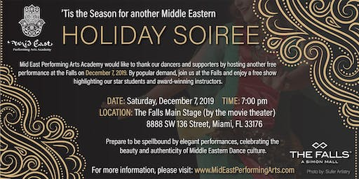 Middle Eastern Holiday Soirée