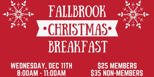 Fallbrook Christmas Breakfast