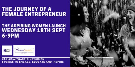 Aspiring Women Talks: The Journey of a Female Entrepreneur tickets