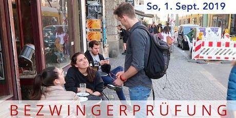Comfort Zone Challenges – Die Bezwingerprüfung// Kieztour durch Friedrichshain Tickets