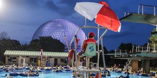 Cinéma flottant - Parc Jurassique | 31 août 2019