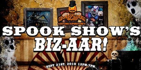Spook Show's Biz-aar! by Halloween Club tickets