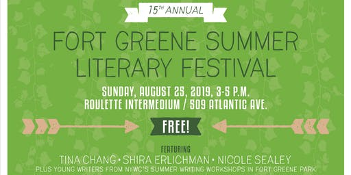 The 15th Annual Fort Greene Summer Literary Festival