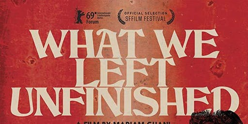 TSAFF2019: What We Left Unfinished