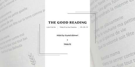The Good Reading with Krystel Abimeri tickets