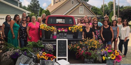 Fall Bouquet + Flower Crown Bar tickets