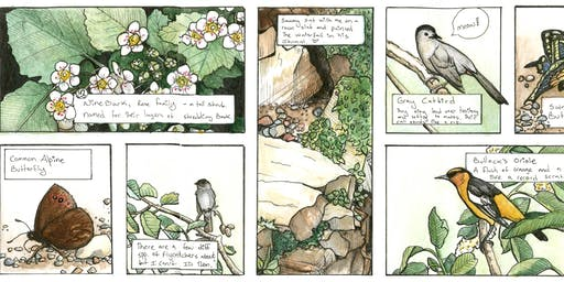Sip & Sketch: Graphic Novel Nature Journaling