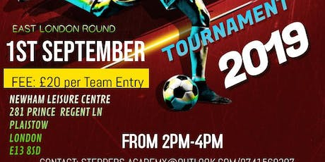 Steppers 6 a Side Football tournament tickets